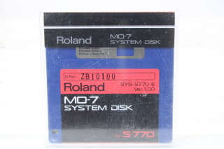 MO-7 System Disk 3.5 Inch TCE-S-4763 NEW 2