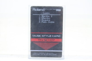 Music Style Card TN-SC1 Set TCE-S-4758 NEW 5