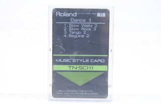 Music Style Card TN-SC1 Set TCE-S-4758 NEW 6