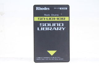 Rhodes Sound Library Rock Drums SN-U01-10R Card TCE-S-4759 NEW
