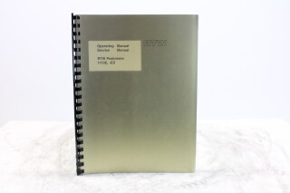 Peakmeter 1113E, -ED Operating and Service Manual EV-F-5894