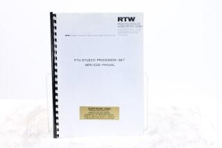 Studio Processor Set Service Manual EV-F-5888