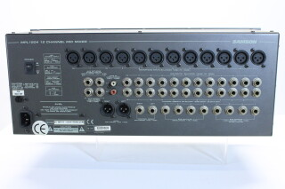 19 Inch 12 Channel Mixer model MPL1204 Mic Mixer FVW-RK-18-5613 NEW 7