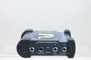 S-Direct Plus Stereo Stand Alone DI-box PUR FS3-3438
