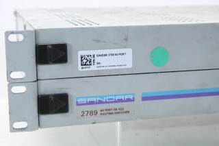 2789 - 64 Port RS 422 Routing Switcher BVH2 RK-17-12061-bv 3