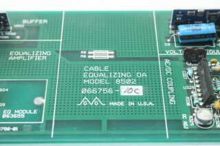 Model 8502, 6 Output Cable Equalizing DA Card/PCB VL-S-11148-z 5