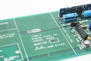 Model 8502, 6 Output Cable Equalizing DA Card/PCB VL-S-11147-z 5