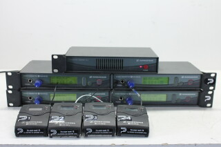 Set With AC2 - 4x EW300 IEM G2 -4x EW300 IEM G2 Beltpacks And PSU PUR RK21-3391 N