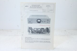 Aussteuerungsmesser U 21 Manual EV-F-4842 NEW