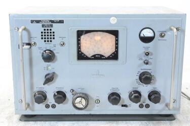 Kurzwellenempfänger/Shortwave Receiver 1,5 bis 30 MHz/255 bis 525 kHz Funk 745 E 309b HEN-ZV-21-6331 NEW