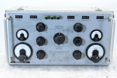 Scheinwiderstands-Meßbrücke Rel 3R 217 Impedance Bridge 30 Hz - 1 MHz HEN-ZV-13-6197 NEW