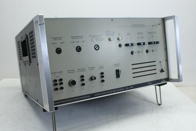 D2060 Automatic Sound Program Measuring Set Receiver 30Hz-16kHz KAY OR-16-13508-BV