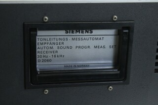 D2060 Automatic Sound Program Measuring Set Receiver 30Hz-16kHz KAY OR-16-13508-BV 10
