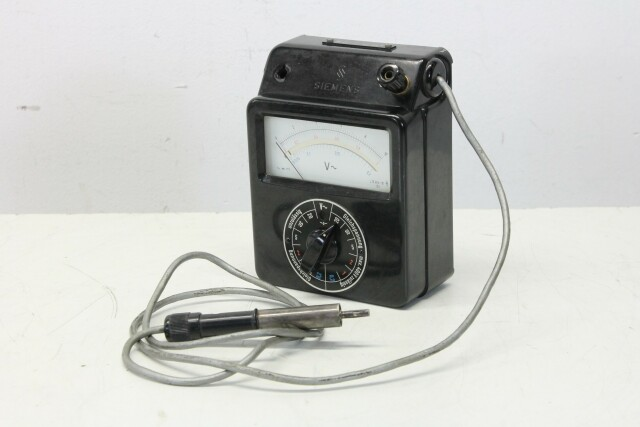 Siemens HF-Multizet Multimeter (No.2) KAY B-9-13591-bv