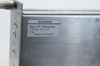 Siemens Sitral V296g R-F Generator (No.2) KAY OR-8-13511-BV 4