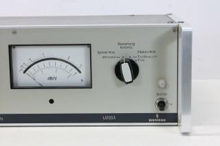 U2033 Noise Voltage Meter - Psophometer - 15HZ-20KHZ (No.3) KAY N-13555-bv 3