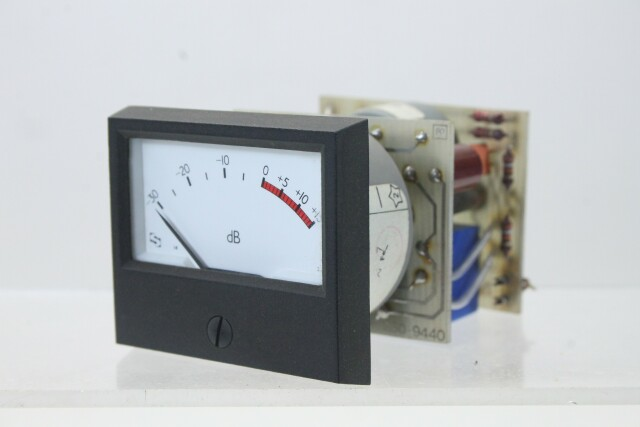 SIFAM M 940-1 dB VU Meter with NTP M-900 Logarithmic Amplifier (No.4) KAY B-13-13960-bv