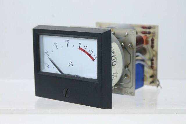 SIFAM M 940-1 dB VU Meter with NTP M-900 Logarithmic Amplifier (No.5) KAY B-13-13961-bv