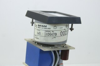 SIFAM M 940-1 dB VU Meter with NTP M-900 Logarithmic Amplifier (No.5) KAY B-13-13961-bv 4