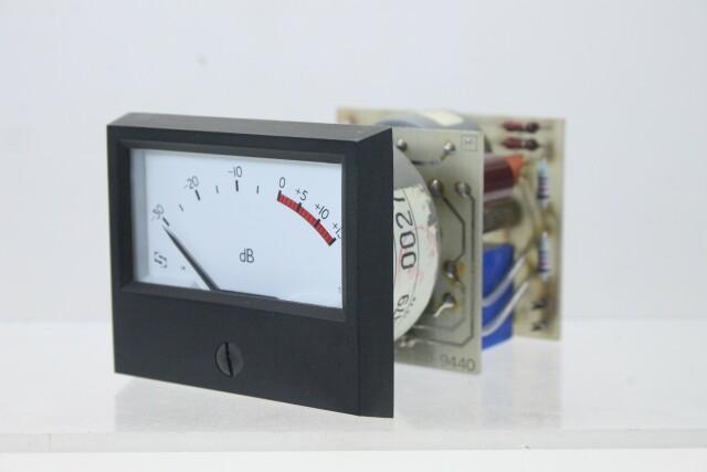 SIFAM M 940-1 dB VU Meter with NTP M-900 Logarithmic Amplifier (No.6) KAY B-13-13963-bv