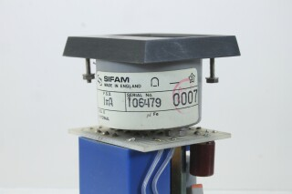 SIFAM M 940-1 dB VU Meter with NTP M-900 Logarithmic Amplifier (No.7) KAY B-13-13964-bv 4