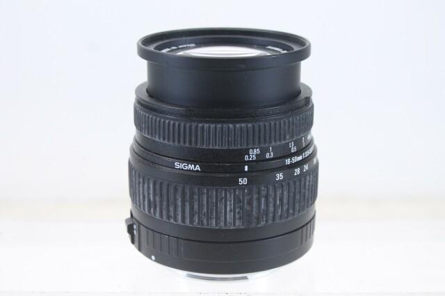 18-50mm 1:3.5-3.6 DC Lens Without Image Stabilizer (No.1) E-2-10786-z