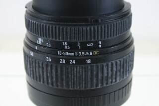 18-50mm 1:3.5-3.6 DC Lens Without Image Stabilizer (No.1) E-2-10786-z 2