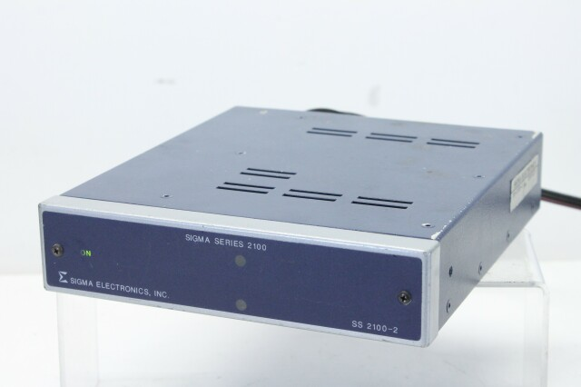SS 2100-2 - Distribution Amplifier With one ADA-2141 card and Power Supply S-10761-z