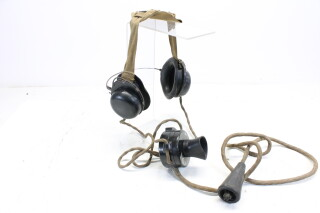 GI-J Headset (From the Wireless Set no.19) WWII (no.2) HEN-A7-4644 NEW