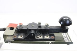 Morse Key and Plug Assembly No.9 MK1/1 HEN-A7-4649 NEW
