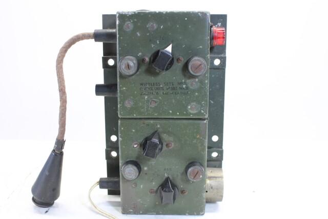 Wireless Set No.19 Control Unit (no.2) HEN-A7-4681 NEW
