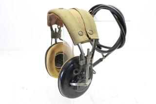 WWII Aviator Pilot Headphones NAF-48490-1 / ANB-H-IA HEN-A7-4611 NEW
