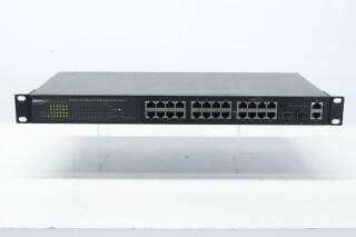 065-7726S PoE - 24-Port 10/100BaseT/TX Managed PoE Switch AXL3 ORB-3-10695-z 2