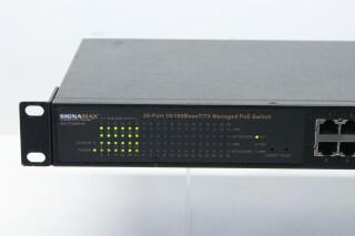 065-7726S PoE - 24-Port 10/100BaseT/TX Managed PoE Switch AXL3 ORB-3-10695-z 3
