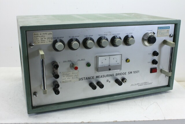 Resistance Measuring Bridge 1001 KAY OR-13-14003-BV