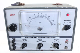 Sine-Square Wave Audio Generator AG-202 HEN-R-4431 NEW