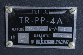 1111 TR-PP-4A - Transmitter Near Mint Condition (no. 1) EV-I-4101 NEW 4
