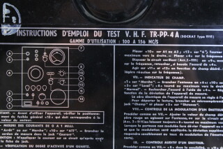 1111 TR-PP-4A - Transmitter Near Mint Condition (no. 2) EV-I-4114 9