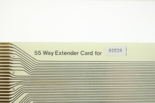 Solid State Logic - 55 Way Extender Card for SSL 4000 Series Console (CF82E50) K-12-11206-z 4