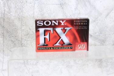 Cassette FX90 type I 120 µ/s SEALED EV-P-6241 NEW