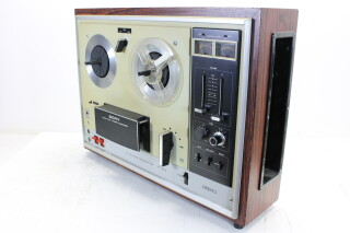 Reel to Reel Recorder TC-270 + 2 Sony F-25 Microphones EV-OR-14-4635 NEW
