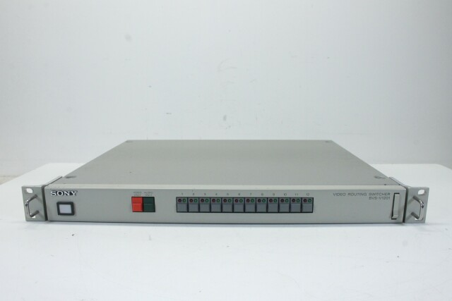 BVS-V1201 Video Routing Switcher HER1 RK-14-13922-BV
