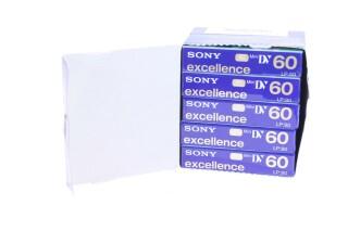 DVM 60 EXM mini DV SP 60min LP 90 min 5 pcs nr3 B3-X5646