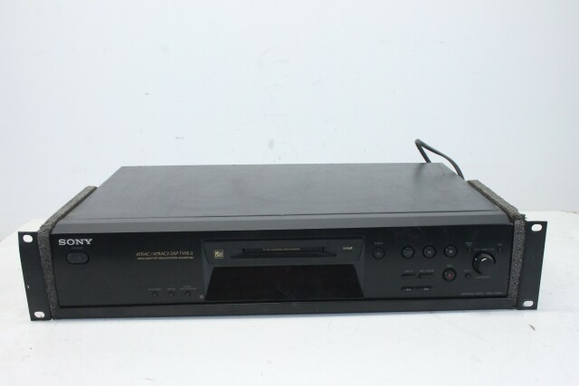 MDS-JE480 Black Mini Disc Player PUR1-RK-22-14330-BV