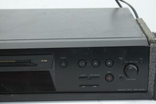 MDS-JE480 Black Mini Disc Player PUR1-RK-22-14330-BV 4