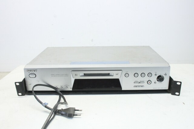 MDS-JE480 Silver Mini Disc Player PUR1-RK-22-14329-BV