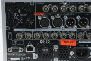 PDW-1500 Professional Disc Recorder (No.2) MVB1 L-14027-BV 8