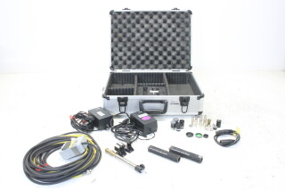 XC-999 CCD Color Video Camera Module Set With Lenses, Filters, Cables, and Power Supplies JDH-C2-ZV-8-5682 NEW