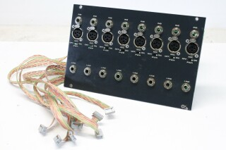 Backplate for Mixing Console with 8x Mic, Line, Ins inputs (No.2) K-11-10011-z