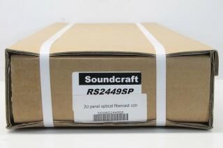 NEW Soundcraft RS2449SP 2U Panel Optical Fibercast Con AXL5-AXL-PL-5-12888-bv 3